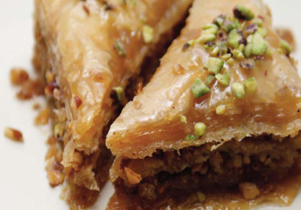 2 Délices à la cuillère baklava