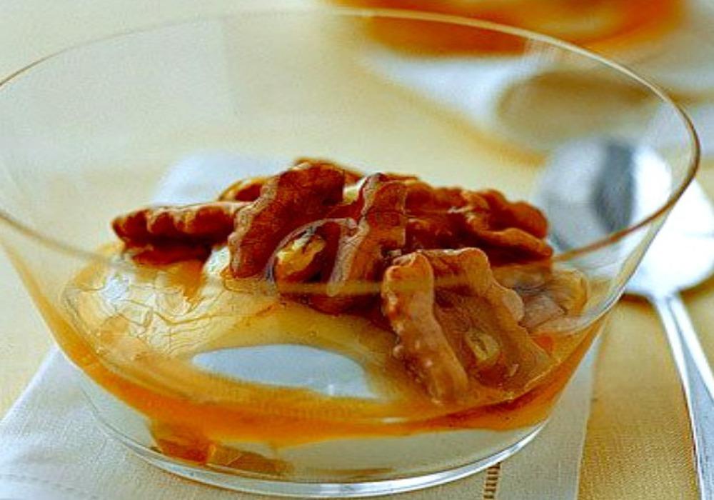 2 Délices à la cuillère yaourt au miel