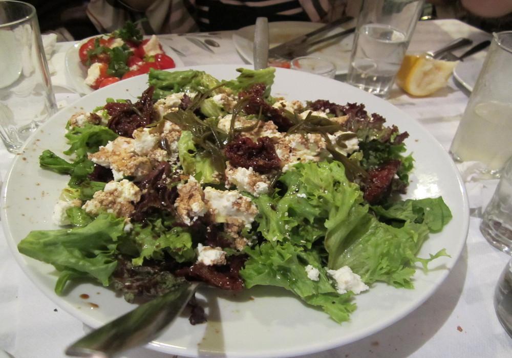 salade verte feta